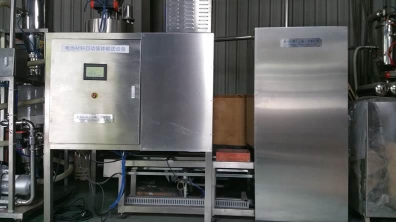 电池新能源粉体自动装钵设备